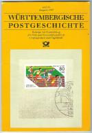 Württembergische Postgeschichte,Heft 26,Ausgabe 1988,Post,Fernmeldewesen,Übertragung Von Bedeutenden Ereignissen, - Libri, Riviste, Fumetti