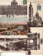 Lot De 110 Cpa Cpsm Cpm De Paris  Voir Scan - Cartes Postales