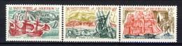 S. Pierre Et Miquelon 1969 Serie N. 395-397 Antichi Vascelli MLH Catalogo € 92 - St.Pierre & Miquelon