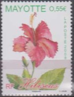 Mayotte.2008. Flowers.Hibiscus.Michel.215. MNH.22551 - Otros