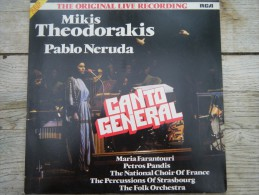 Mikis Thedorakis - Pablo Neruda - Canto General ( 2 Disques) - Unclassified