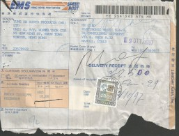 SPE217--STORIA POSTALE, - POSTAL HISTORY,  CHINA,  HONG KONG--NAPOLI,  ITALIA, - 1949 - ... République Populaire