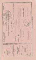 361DT - Document Chemin De Fer Etat Belge Et Du Nord - EXPOSITION Universelle De PARIS 1867 - Commission Belge - 1867 – Paris (France)