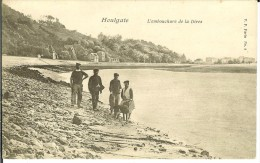 CPA  HOULGATE, L'embouchure De La Dives  7469 - Houlgate