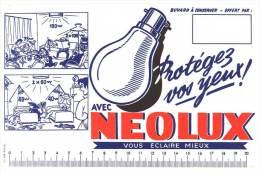 Buvard Neolux Vous éclaire Mieux ( Ampoule ) - Electricité & Gaz