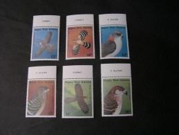 ==  Papua Birds   1985  497-502   ** MNH   €  8,00 - Papouasie-Nouvelle-Guinée