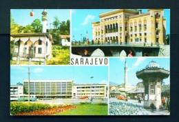 BOSNIA AND HERZOGOVINA  -  Sarajevo  Multi View  Unused Postcard - Bosnia And Herzegovina