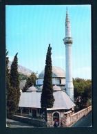 BOSNIA AND HERZOGOVINA  -  Mostar  Mosque  Unused Postcard - Bosnia And Herzegovina