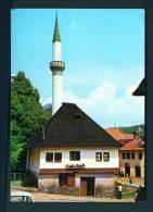 BOSNIA AND HERZOGOVINA  -  Jajce  Mosque  Unused Postcard - Bosnia And Herzegovina
