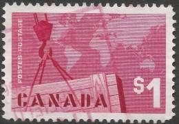 "Canada. 1963 ""Export Trade"" $1 Used. SG 536 - 1952-.... Reign Of Elizabeth II"