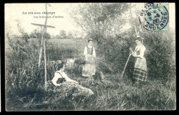 Cpa La Vie Aux Champs -- Les Brûleuses D' Herbes  LIOB18 - Landbouwers