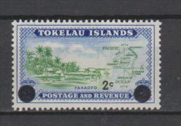 Tokelau Mi 7 Local Scenes - Fakaofo Shore Line - Map - Surcharged In Black - 1967 * * - Tokelau