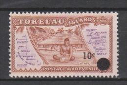 Tokelau Mi 11 Local Scenes - Atafu - Surcharged In Black - 1967 * * - Tokelau