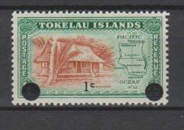 Tokelau Mi 6 Local Scenes - Nukunono - Map - Traditional House - Surcharged In Black - 1967 * * - Tokelau