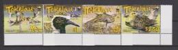 Tokelau Mi 368-371 - WWF - Pacific Golden Plover - Bird - 2007 ** - Tokelau