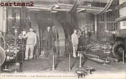 LE PETIT JOURNAL MACHINES PRODUCTRICES D'ELECTRICITE JOURNALISTE PRESSE METIER PARIS JOURNALISME - Profesiones