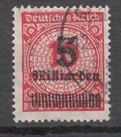 Deutsches Reich - Mi. 334 A - Oblitérés