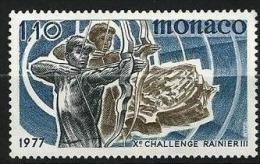"""Monaco YT 1095 """" Tir à L'arc """" 1977 Neuf** - Monaco"""