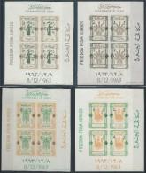 Stamps  DUBAI 1963 Lotta Contro La Fame Block 30/33 MNH SERIE COMPLETA VALORE €200,00 - Iran
