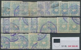 1226 - FRIBOURG Fiskalmarken - Steuermarken