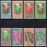 K 871 ETABLISSEMENTS FRANÇAIS DE L´OCEANIE  X  TAXE YVERT NR 10/17  ZIE SCAN - Collections (without Album)