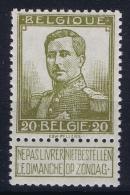 Belgium:  OBP 112  MNH/**/postfrisch/neuf  Mi 93 1912