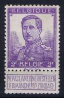 Belgium:  OBP 117  MNH/**/postfrisch/neuf  Mi 98 1912 - 1912 Pellens