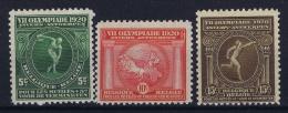 Belgium: OBP 179 - 181  MNH/**/postfrisch/neuf  Mi 159 - 161  1920 - Belgique