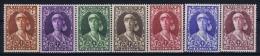 Belgium: OBP 326 - 332 MNH/**/postfrisch/neuf  Mi 315 - 321 1931 - Bélgica