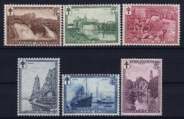Belgium: OBP 293 - 298  MNH/**/postfrisch/neuf  Mi 270 - 275 1929 - Belgique