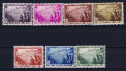 Belgium: OBP 356  - 362  MNH/**/postfrisch/neuf  Mi 344 - 346 1932  TBC - Nuovi