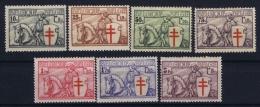 Belgium: OBP 394  - 400  MH/* Falz/ Charniere Mi 386 - 392 1934 - Belgium