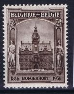 Belgium: OBP 436 A MNH/**/postfrisch/neuf   Mi 432  1936
