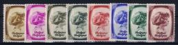 Belgium: OBP 488 - 495 MNH/**/postfrisch/neuf   Mi 489 - 496 1938