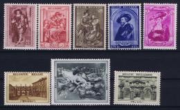 Belgium: OBP 504 - 511 MNH/**/postfrisch/neuf   Mi 506 - 513 1939