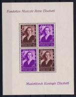 Belgium: OBP  BL7 MNH/**/postfrisch/neuf   1937  Mi Block 6