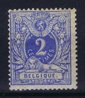 Belgium: OBP  27 MH/*  1869 - 1869-1888 Lying Lion