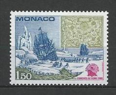 "Monaco YT 1301 "" Congrès International "" 1981 Neuf** - Monaco"