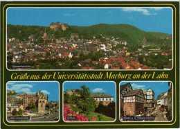 3550 Marburg An Der Lahn Mehrbildkarte 4 - Marburg