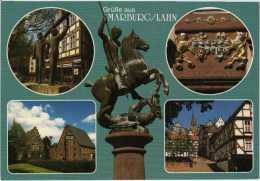 3550 Marburg An Der Lahn Mehrbildkarte 6 - Marburg