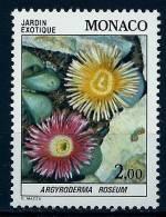 "Monaco YT 1376 "" Plante Du Jardin Exotique "" 1983 Neuf** - Neufs"