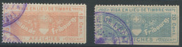 1229 - FRIBOURG Fiskalmarken - Fiscaux