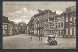 CPA - Pays Bas - Groote Markt - BERGEN OP ZOOM - Auto - Car   // - Bergen Op Zoom