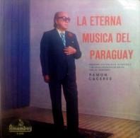 Disco Vinilo (LP) LA ETERNA MUSICA DEL PARAGUAY - HERMINIO GIMENEZ - CON FIRMA - WITH THE SIGNATURE - Formatos Especiales