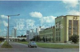 Aizkraukles Street - Car Moskvitch - Riga - 1976 - Latvia USSR - Unused - Lettonie