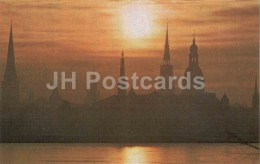 Riga At Dawn - Riga - 1976 - Latvia USSR - Unused - Lettonie