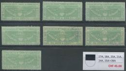 1234 - FRIBOURG Fiskalmarken - Steuermarken