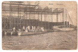 Pologne - Stettin 1916 - Vulkanwerft Chantier Naval ? Bateaux , Ed Von Arthur Schuster - Polen