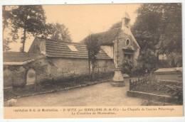 95 - SAINT-WITZ Par Survilliers - Institution N.-D. De Montmelian - La Chapelle De L'ancien Pélerinage - Le Cimetière - Saint-Witz