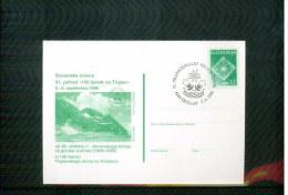 Slovenia / Slowenien 1996  100 Women On Mountain Triglav Postcard - Climbing